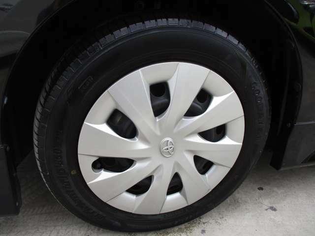 タイヤもヒビ割れ等なく安心してお使いいただけます♪