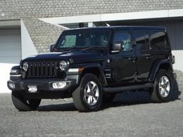 ジープ ラングラー アンリミテッド サハラ 3.6L 4WD 黒革シート/メーカーナビ/F&S&Rモニター/