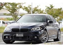 BMW 5シリーズ 523d Mスポーツ ディーゼルターボ 黒革シート LEDヘッドライト LCIモデル