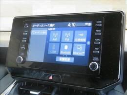 ディスプレイオーディオ装備で、ロングドライブも快適です。