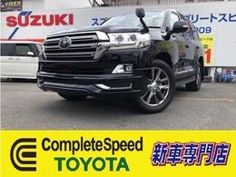トヨタ ランドクルーザー200 4.6 AX 4WD 登録済未使用車当店デモカー