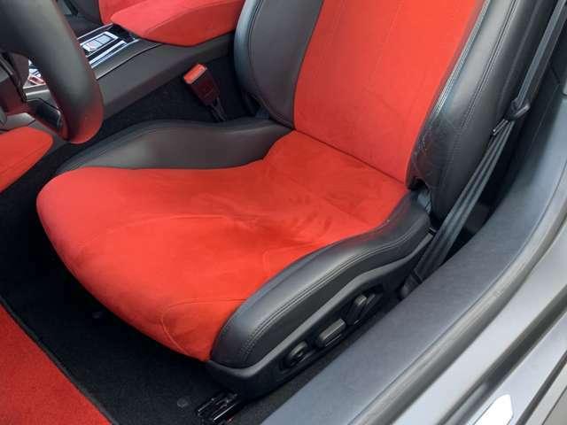 運転席・助手席ともにパワーシートとなっております。