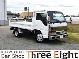 いすゞ エルフ 4.3 ダンプ 高床 LTD ディーゼル メッキパーツ/5速MT車/エアコン