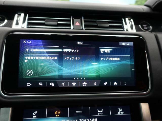 ◆タッチスクリーンのナビゲーションも優れた操作性と機能性を誇っております。専用のサウンドシステムも装備しております◆