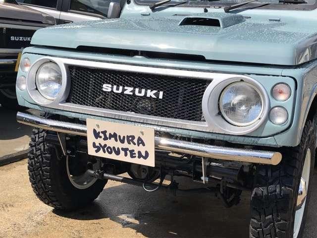 ガレージ木村商店ミニ4WD店は広島県廿日市市にあるジムニー専門カスタムカーショップです。展示車の販売はもちろん、お客様の要望に沿ってカスタムする事もできます!お問合はこちら→無料電話0066-9711-144647