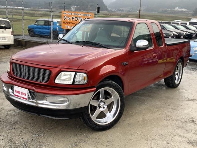 【ユーザー買取車にてフォード F150 を入荷致しました!】オールペイント(全塗装済)にて替赤