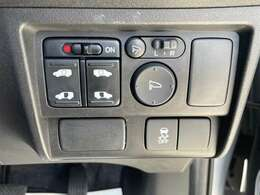 運転席操作部スイッチの画像です