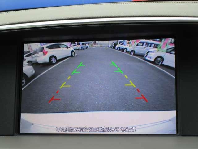 ガイドライン表示機能つきバックモニターです!バックでの駐車時など後方の安全確認ができて安心安全ですね♪