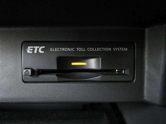 ETCが付いていますので、高速道路の料金所などスムーズに通過できます♪