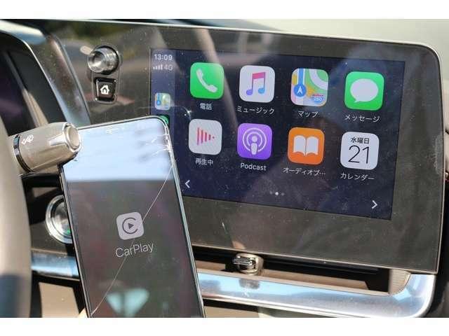 モニターサイズは、8インチになります!アップルカープレイが完備されているので、お使いのスマートフォンを繋いで、操作が可能です!