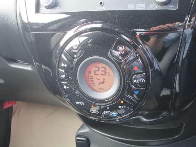 【オートエアコン】 設定温度は一定のまま、1年中、車内は快適空間♪快適温度♪