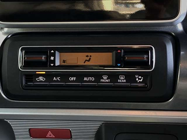 【オートエアコン】車内温度を感知して自動で温度調整をしてくれるのでいつでも快適な車内空間を創り上げます!