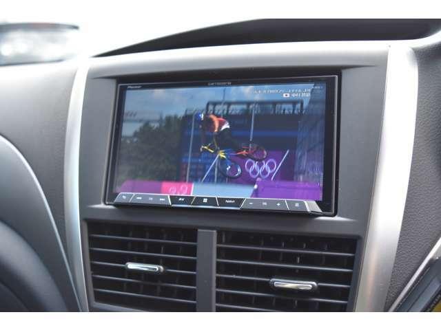 カロッツェリアナビ(フルセグTV)・ETCなど快適装備も充実しております。