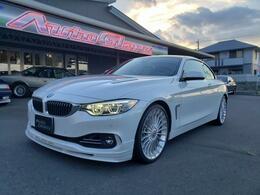 BMWアルピナ B4カブリオ ビターボ 左H 白革シート