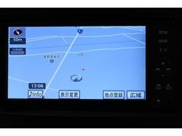 純正SDナビゲーション(NSZT-W61G) 初めて行く場所も道に迷うことなく安心です。