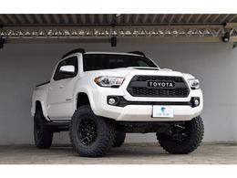 米国トヨタ タコマ ダブルキャブ TRDスポーツ 4WD レザー カスタムスタイル 2021モデル