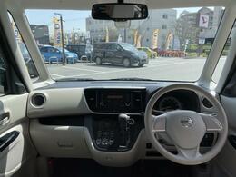 視界も広く、どなたでも運転しやすいお車になります。