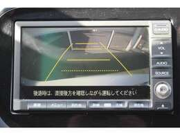 リアカメラが装備されており、後方の安全確認はもちろんのこと狭い場所での駐車や雨の日・夜間など視界の悪いコンディションでのストレスの軽減にもなります!