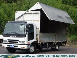 いすゞ フォワード アルミウイング パブコ製  荷台内寸6200×2200×2300