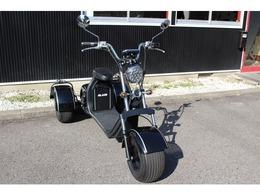 輸入車その他 ブレイズEVトライク 三輪トライク 公道走行可・EV・車検不要・ヘルメット不要