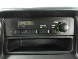 トヨタ純正 AM/FMラジオ 50207を装備しております。ご相談いただければ、オススメのナビやオーディオもご紹介いたします。