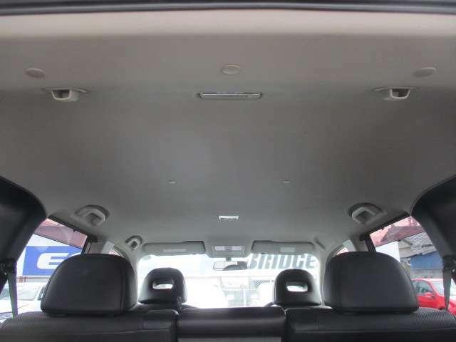Bプラン画像:天張りの剥がれや垂れ等もなくキレイな状態です♪目立つ汚れ等も無くキレイな車内になっております♪