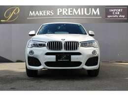 BMW Xモデルならではのパワフルな特徴と、クーペのスポーティでエレガントなデザインを高次元で融合したプレミアム・ミドル・クラスのスポーツ・アクティビティ・クーペ「X4」。