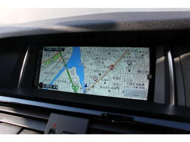 純正のナビゲーションシステムはDVDや地デジTVの使用も可能です。お好みの音楽をインポートすることもできます。