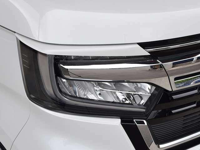 アイライン・LEDヘッドライト
