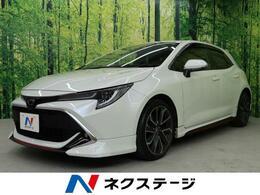 トヨタ カローラスポーツ 1.2 G Z 純正ナビ・赤革シートTRDエアロ