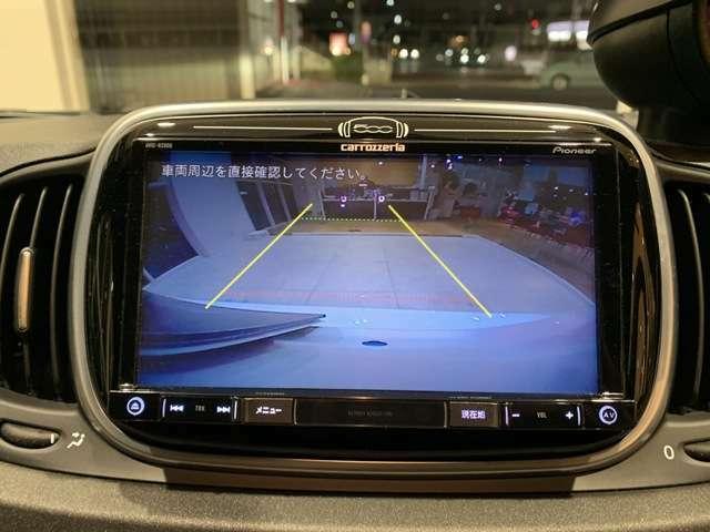バックカメラ付き!モニターで後方確認できるので、車庫入れが苦手な方も安心!