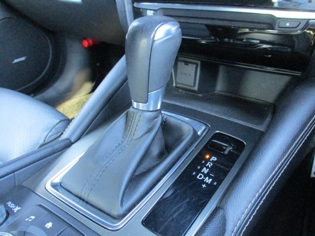 ロックアップ領域を拡大し、燃費の向上とマニュアル車のようなダイレクトフィーリングを実現しました。