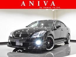 トヨタ クラウンアスリート 2.5 ナビパッケージ 黒革エアーシート LD 新品20AW 新品Fエアロ