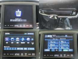 お出掛けに嬉しい、フルセグ対応純正HDDナビ付きです♪DVDビデオ再生機能・音楽録音機能・USB/Bluetooth接続機能も装備しております♪