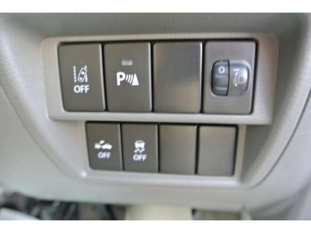 衝突被害軽減ブレーキや前後誤発進抑制装置など安心機能が満載☆