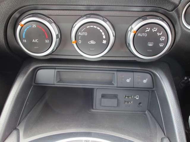 フルオートエアコン!ドライブに事足りない装備!