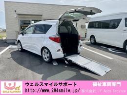 トヨタ ラクティス 1.3 X ウェルキャブ 車いす仕様車スロープタイプ タイプI 助手席側リアシート無