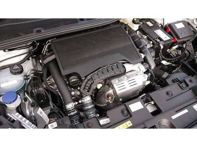 130馬力(カタログ値)の1,2Lガソリンターボエンジン