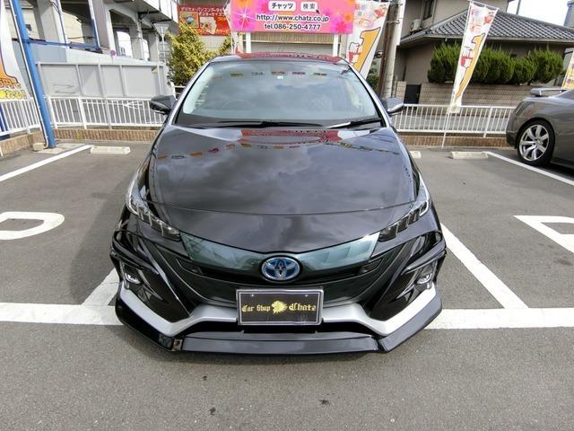 プリウス高級PHVAユーテリティプラス入荷致しました正規オークション無事故評価5点美車ですまだまだ乗れます2.6万km当店自慢改造多数のドレスアップカー