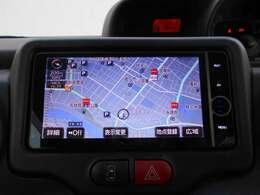 HDDナビゲーション搭載。シンプルな操作と大きなタッチコマンドなので入力や操作も楽々便利ですね!
