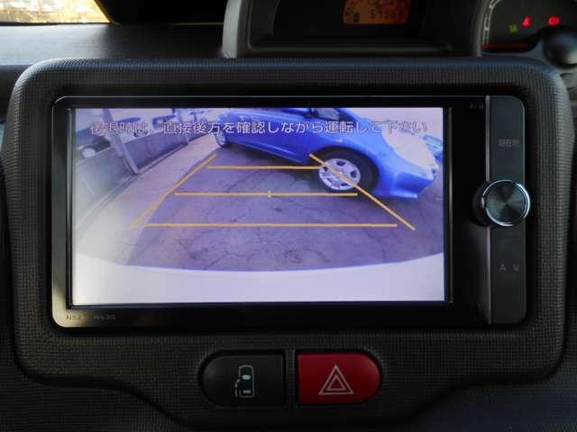 バックカメラ装備!ガイド線が付いていますので駐車する際にとても安心です。
