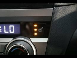 【シートヒーター】寒い季節や早朝にあるとうれしい装備です☆