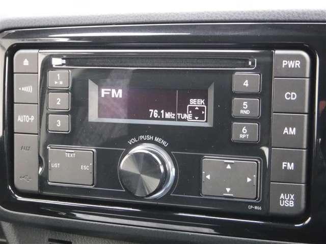 CDチューナー。もちろんAM/FMラジオも聴けます。別途ナビの取り付けも承りますので、お気軽にお問い合わせください。