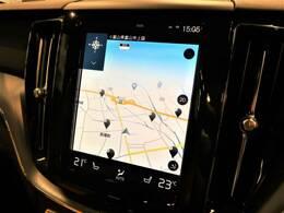 ◆9インチタッチコントロール対応純正ナビゲーション『Apple Car Playに対応。HDD方式を採用しすべての機能を集約したボルボの先進ナビゲーションです。御納