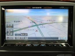 フルセグTV内蔵HDDナビゲーション『CD/DVD再生はもちろん、音源録音機能やBluetoothオーディオなど多彩なメディアに対応!御納車時には最新の地図データへ無料更新いたします。』