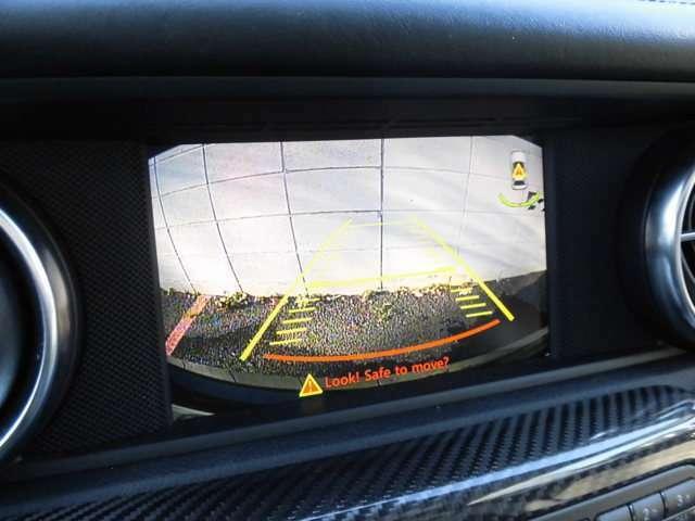 バックカメラ搭載車で駐車も安心です!