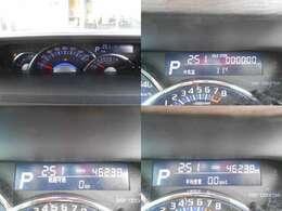 燃費計も表示できる多機能メーターです♪