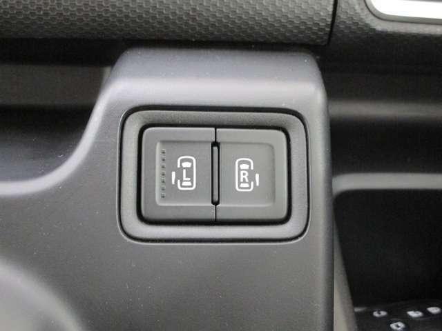 両側電動スライドドアは運転席から開閉可能