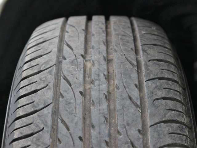 タイヤの山も7分山程度!国産タイヤでまだご使用いただけるかと思います★