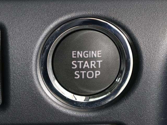 スマートエントリーシステム付。プッシュ式エンジンスタートは、スマートキーが近くにあれば、ボタン一つでエンジンスタートが可能です!